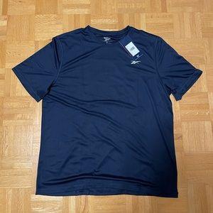 NWT Reebok Running Shirt (Navy)